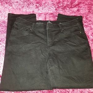 St Johns Bay Womens Size 12PS Straight Leg Jeans